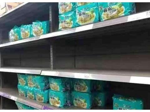 最难吃的泡面口味终于藏不住了!封城时都无人买,被留在货架上!