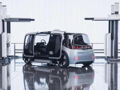 Project Vector概念车,捷豹路虎的未来出行