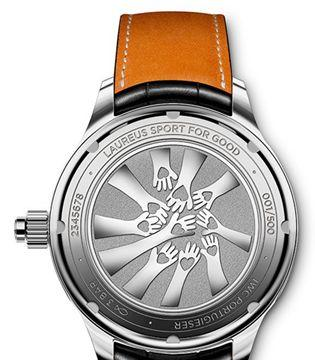 IWC万国表首款手动上链单按钮计时腕表