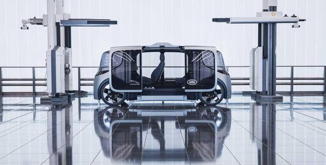 捷豹路虎全新概念车型Project Vector
