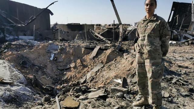 驻伊美军基地遭伊朗导弹袭击没有人员伤亡,美媒揭秘