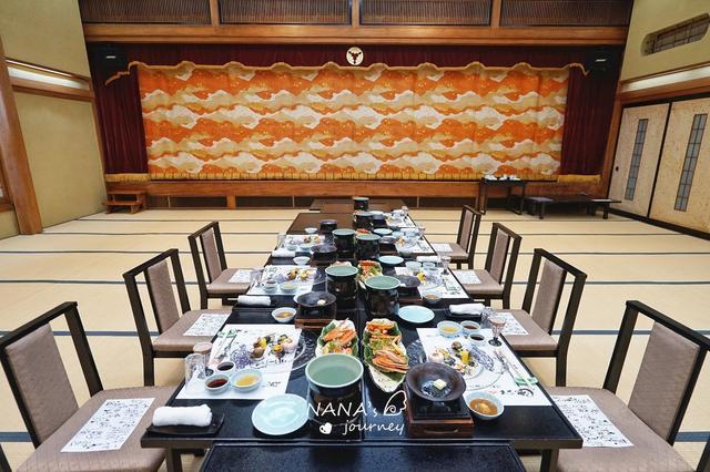 在文化遗产的老旅馆中,享受天皇授奖日料是何种体验