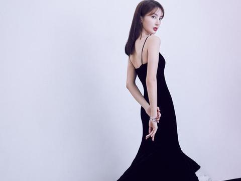 同穿大裙摆鱼尾裙,金晨张天爱风格不同,纤细小蛮腰却一样抢镜