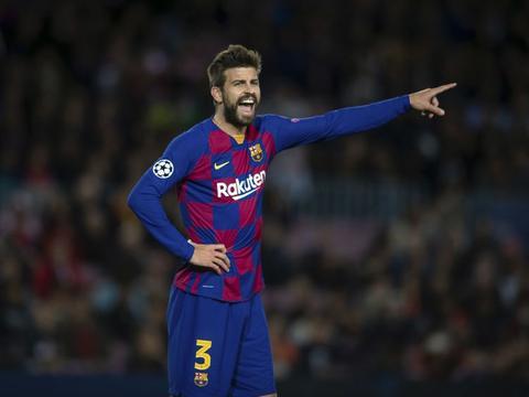 皮克:永远不忘被罗马和利物浦逆转 希望梅西在巴萨退役