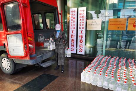 """临沂籍影视制作人亓达吉:捐赠2吨医用酒精助力家乡""""战疫"""""""