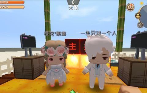 迷你世界:在游戏里给粉丝主持婚礼,还给他们送了皮肤做彩礼!