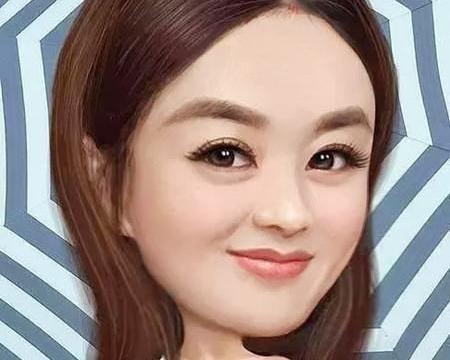 赵丽颖、舒淇、姚晨漫画像神还原,到她却变成路人脸!