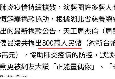 福布斯公布19年中国明星收入前5名,看看他们捐了多少钱?