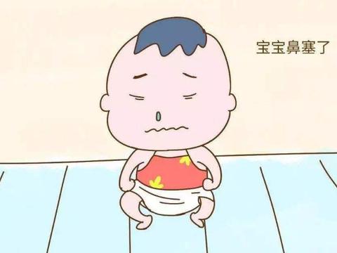 「育儿」宝宝鼻窦炎流鼻涕鼻塞张着嘴呼吸,儿童鼻炎怎么按摩?