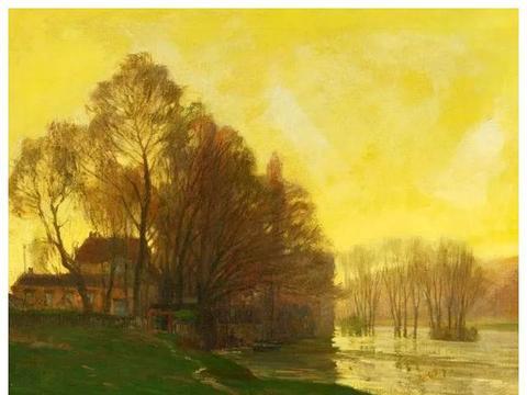 美国印象派大师,穆尔豪普特的绘画作品欣赏