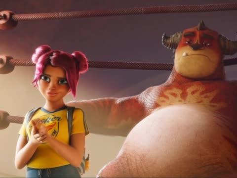《怪兽训练营》曝全球首款预告海报 废柴怪兽热血出击战摔跤霸主
