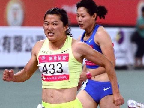 7秒49!女飞人袁琦琦首秀夺冠 大腿壮实 将和梁小静韦永丽战奥运