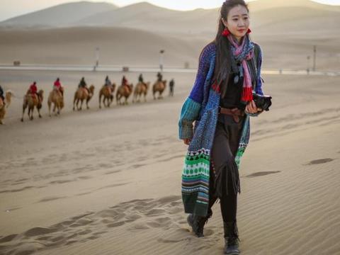 丝绸之路的必经之地,如今成戈壁滩上最漂亮风景线
