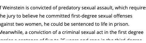 电影大亨韦恩斯坦终定罪,或判29年监禁!性侵百名女星跨度达30年