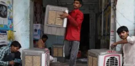 印度特制奇葩空调,用稻草制冷,300元一台供不应求!