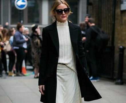 潮人们的黑色外套搭配示范,时髦又保暖,轻松凹造型不在话下