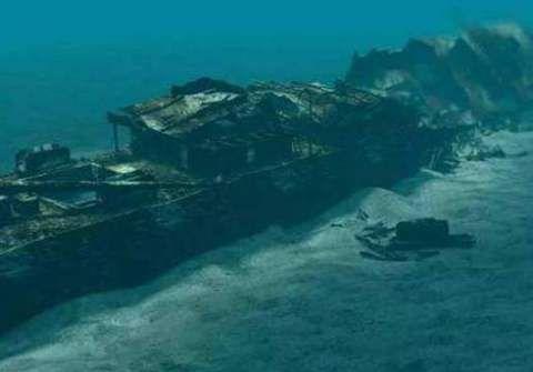 我国渔民在南海发现英国沉船,满载圆明园文物