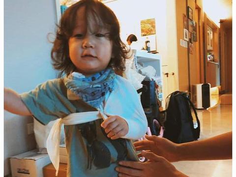 隋棠曝小儿子摔伤锁骨 竟是因为在家模仿《爱的迫降》