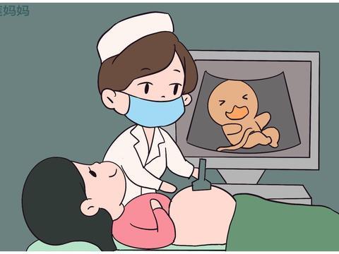 孕妇做B超看见娃做鬼脸,很激动,医生却无奈摇头这个孩子要不了
