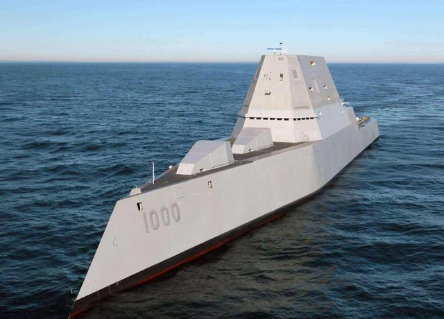 专门对标055驱逐舰?排水量高达2万吨,美军要求2021年开工