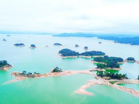 """这里是广东最大的湖泊,风景美如""""桃花源"""",远离喧嚣绿意盎然"""