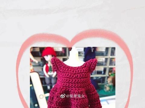 妈妈给娃娃编织的衣服,可爱又温暖!宝宝超喜欢,30分钟就搞定