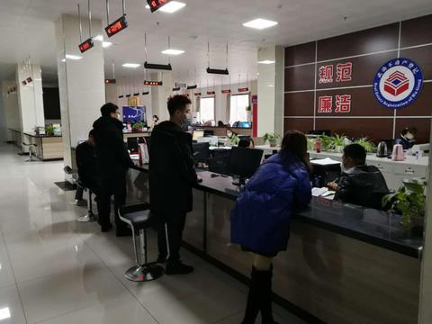 武功县不动产登记中心防疫服务两手抓两不误