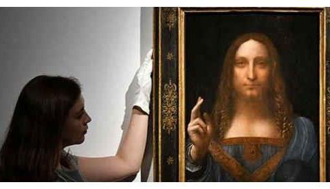 衣服昂贵的世界名画《世界的救世主》,其中的秘密将被解开?