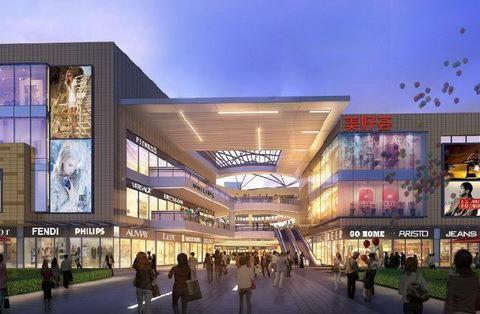 湖西玲珑美好荟巧妙商场设计构思,小而美的社区商业典范