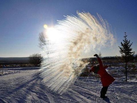 """中国最冷的地方,不是漠河的""""北极村"""",而是内蒙的""""冷极村"""""""