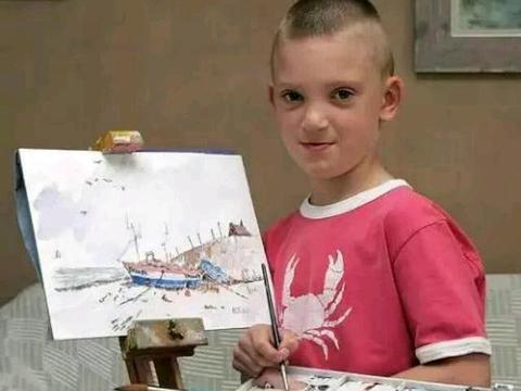 """5岁学画画,8岁办画展,如今收入上千万,被人称为:""""小莫奈!"""""""