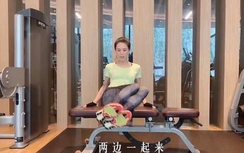 52岁李若彤仙气十足,宅在家中做有氧运动,展现完美身材