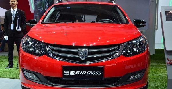 宝骏610 CROSS配置图片 售价6.78-8.78万 搭1.5L发动机