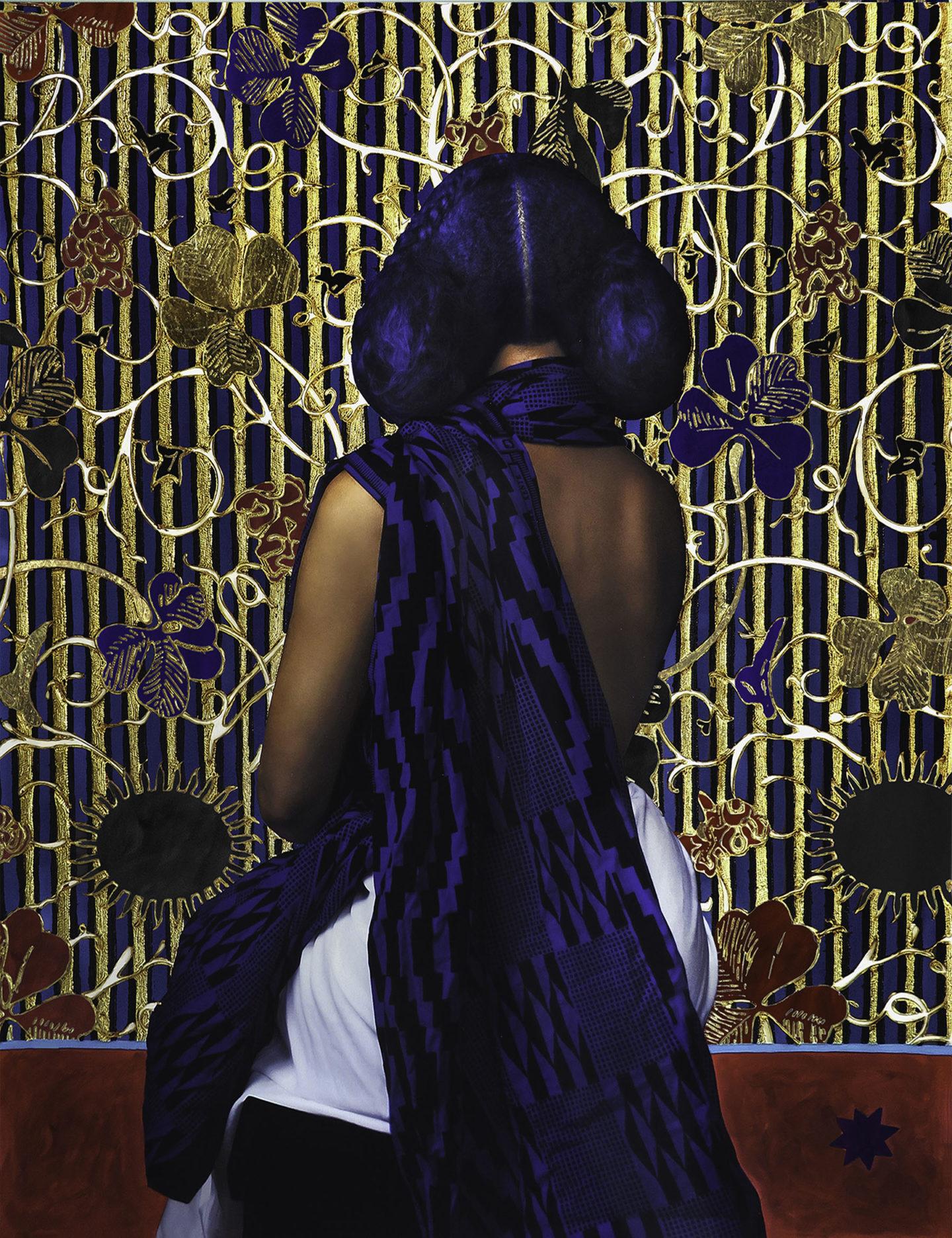 一个24k金的历史通道英国-利比里亚艺术家 Lin