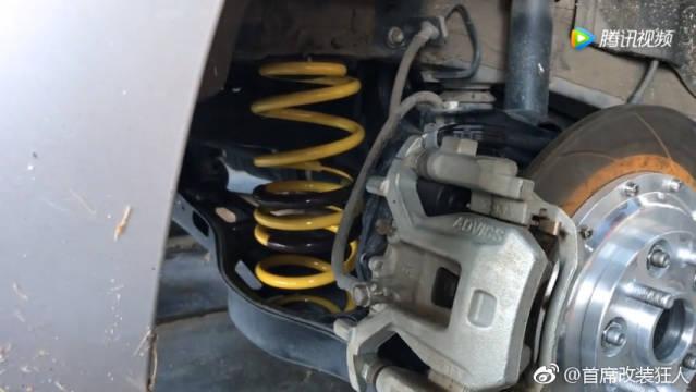 18新款凯美瑞改装TEI Racing高性能运动短弹簧
