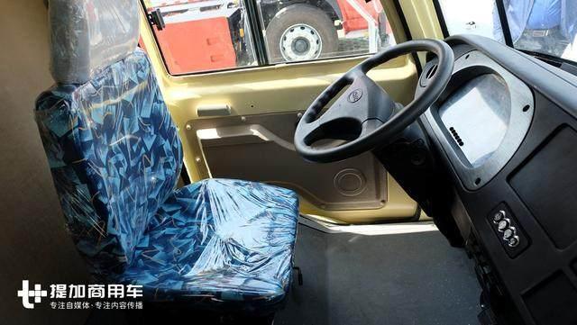 致敬大众T1?承载性可比轻卡厢货,恒天新楚风电动售货面包车实拍