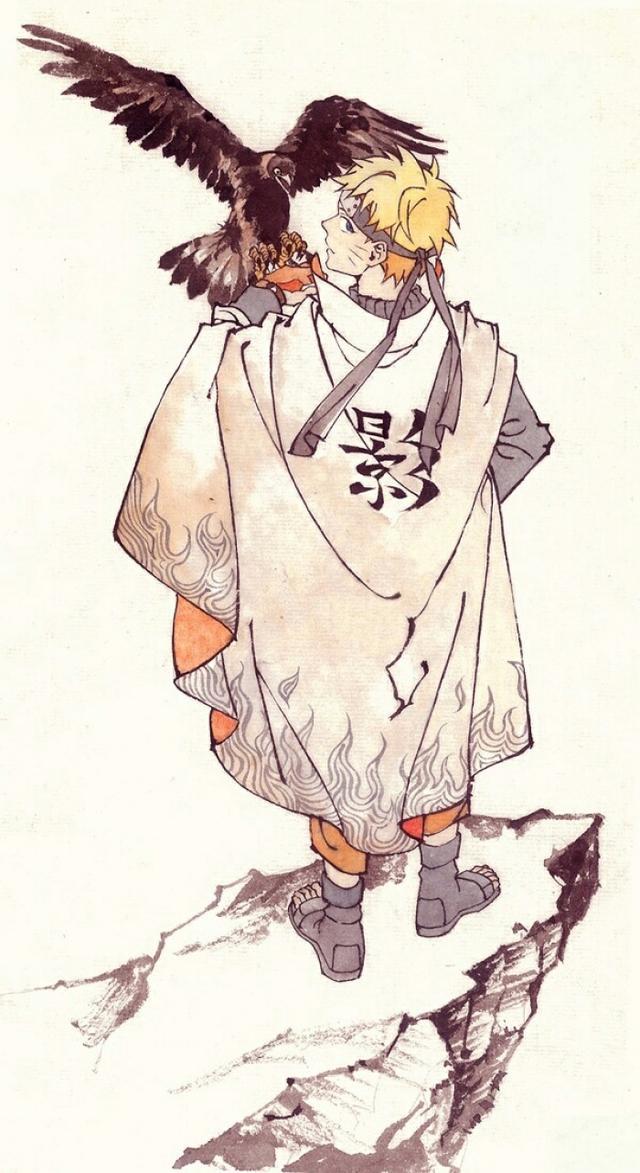 火影忍者里帅气十足的背影,自来也,鼬神让人痛心,鸣人