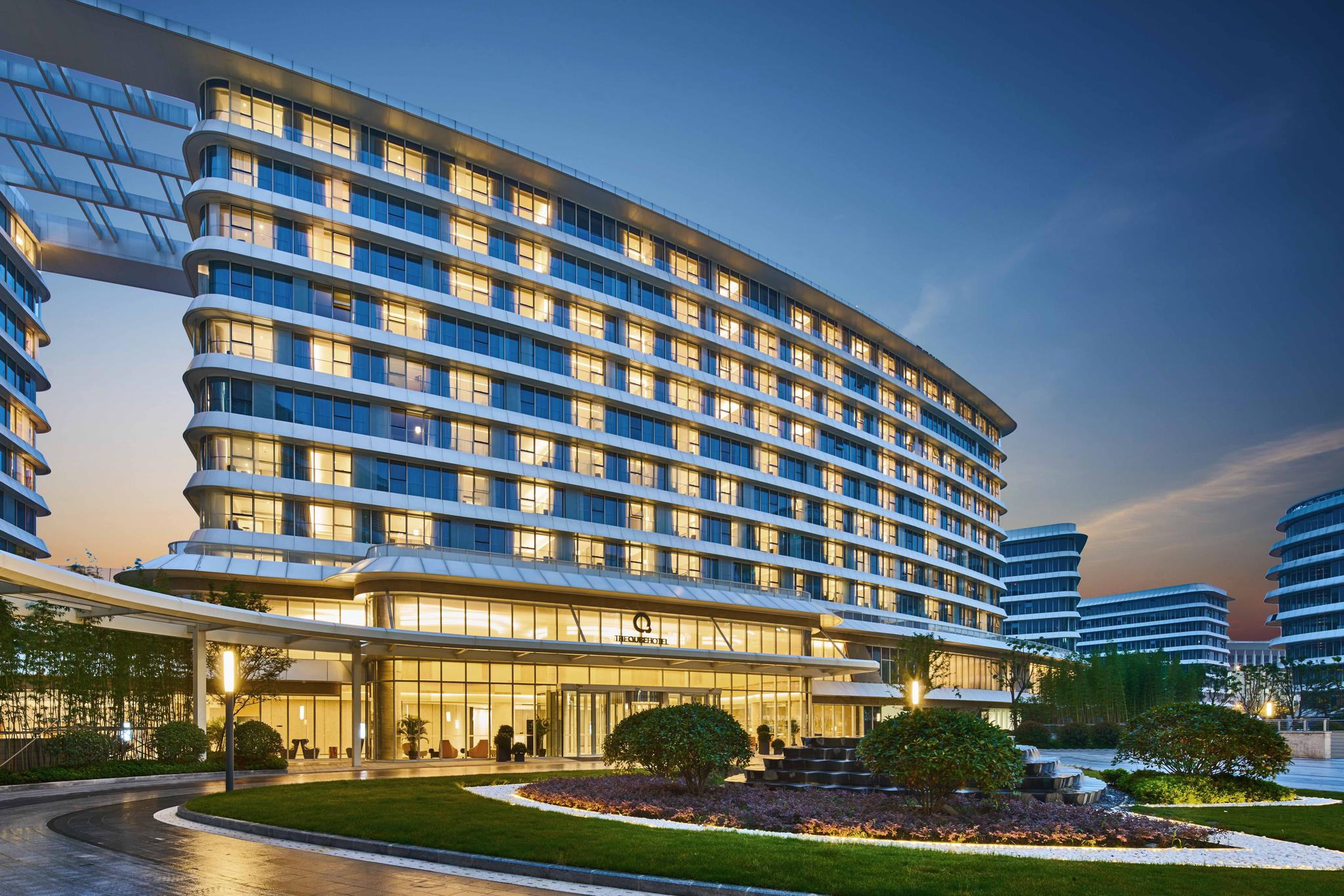 上海虹桥绿地世界中心 铂瑞酒店及铂骊酒店获 最佳商务酒店 奖