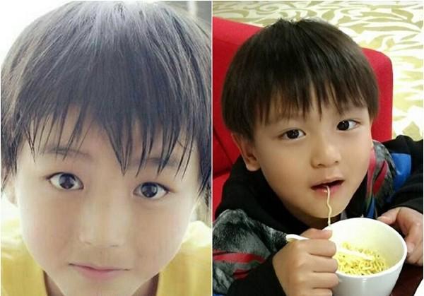 5岁小亮仔撞脸tfboys王俊凯!超萌无辜大眼绝对潜力股