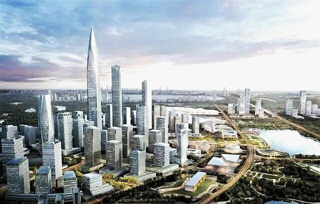 都市天际线理想规划图