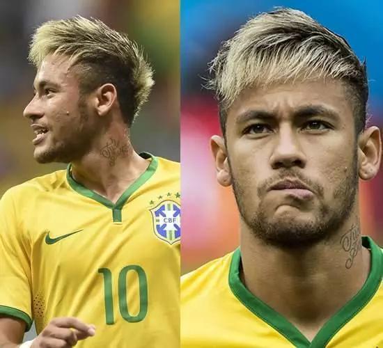 内马尔确实有很多种发型,你觉得哪一个最好看呢?图片