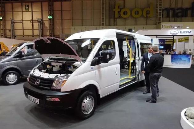 上汽大通EV80火到大不列颠 揭秘中国车企如何将中国智造推向全球