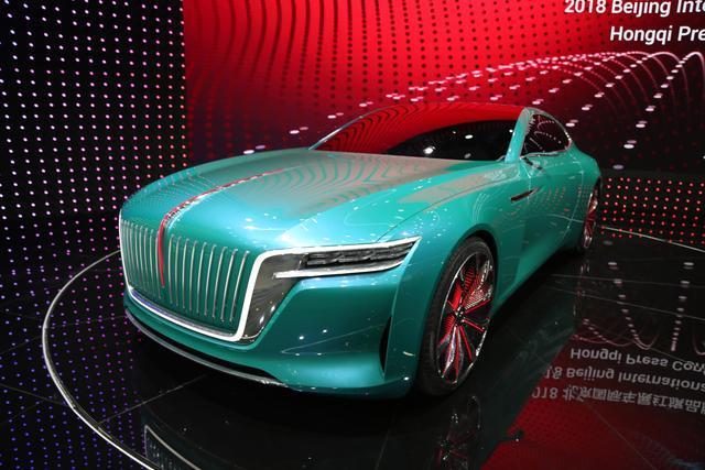 红旗发飙了!新车外观就值100亿,比迈巴赫霸气,上市想不火都难