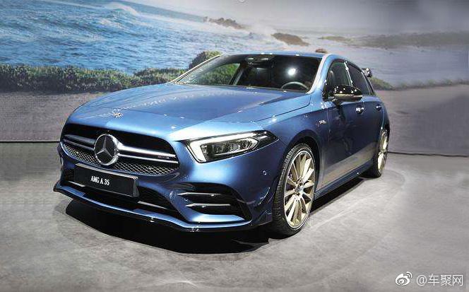 入门小钢炮,全新Mercedes-AMG A35 4Matic车展亮相,全新调教的2