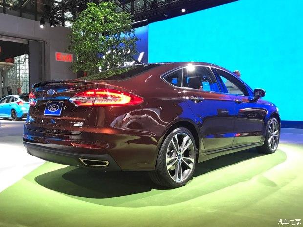 福特新款Fusion正式亮相