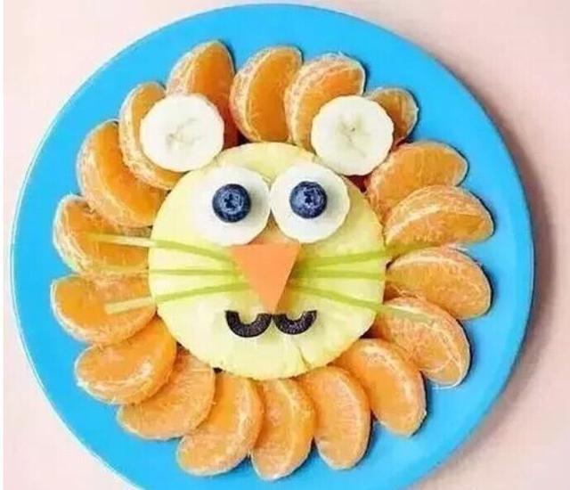 拼盘做的漂亮爱上美食,让水果妈妈吃宝宝!水果万达二七金街图片