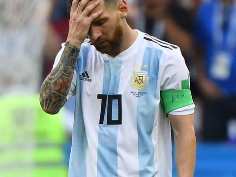 2018世界杯,梅西表示带不动!