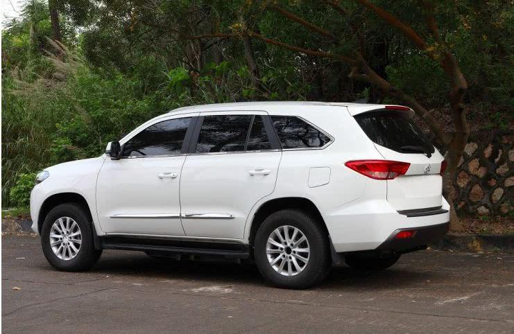 10万级中大型7座SUV,号称国产霸道,非承载车身配后驱