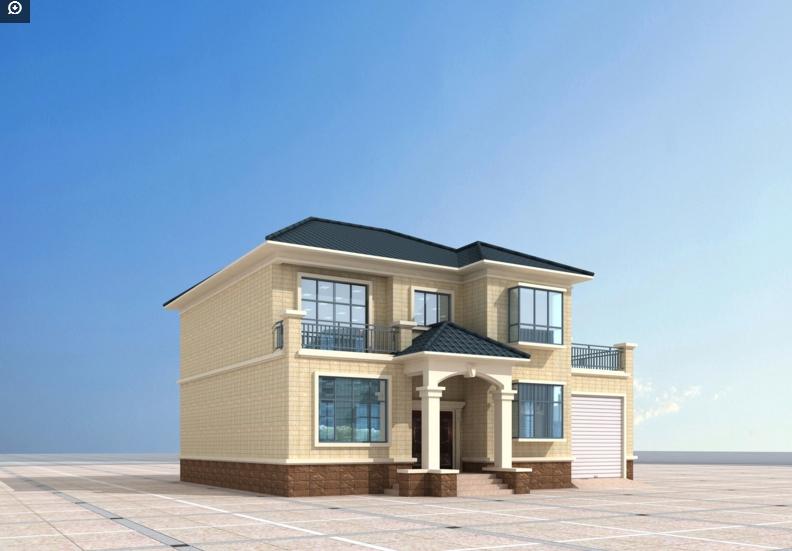 2018年准备建房的朋友免费看三层别墅设计图两层房屋效果图图片