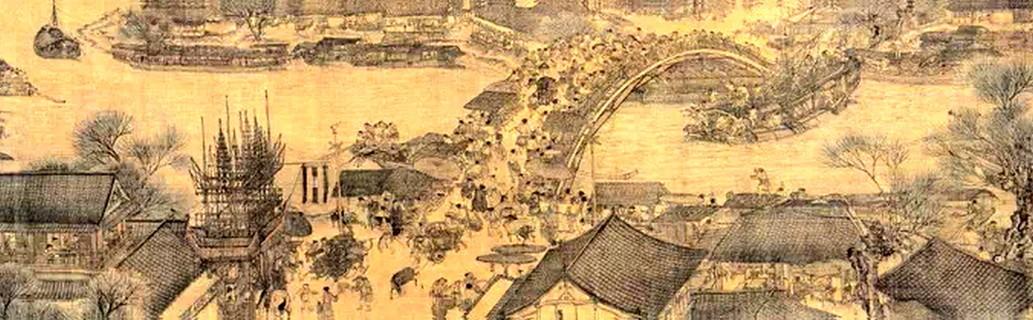 """中国绘画""""散点透视法"""":不受时空限制,以求别出蹊径"""